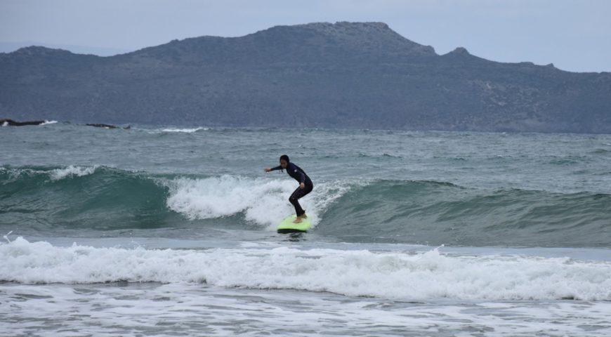 Surfing Crete-Agioi apostoloi