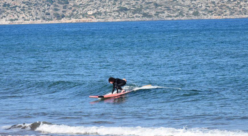 Surf ln Chania
