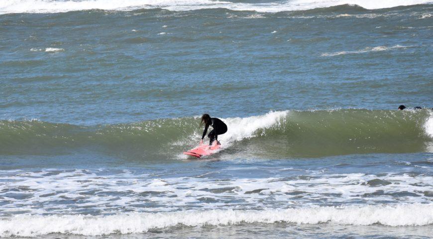 Surf lesson in Crete
