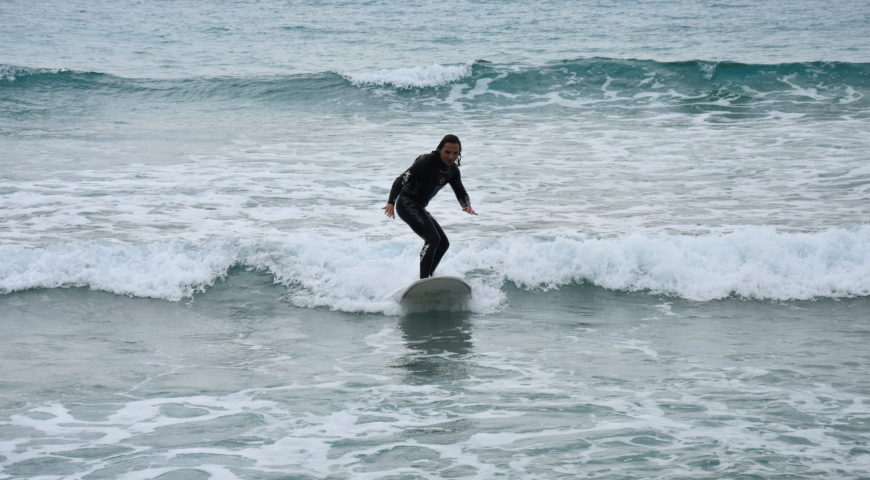 Surf lessons in Crete