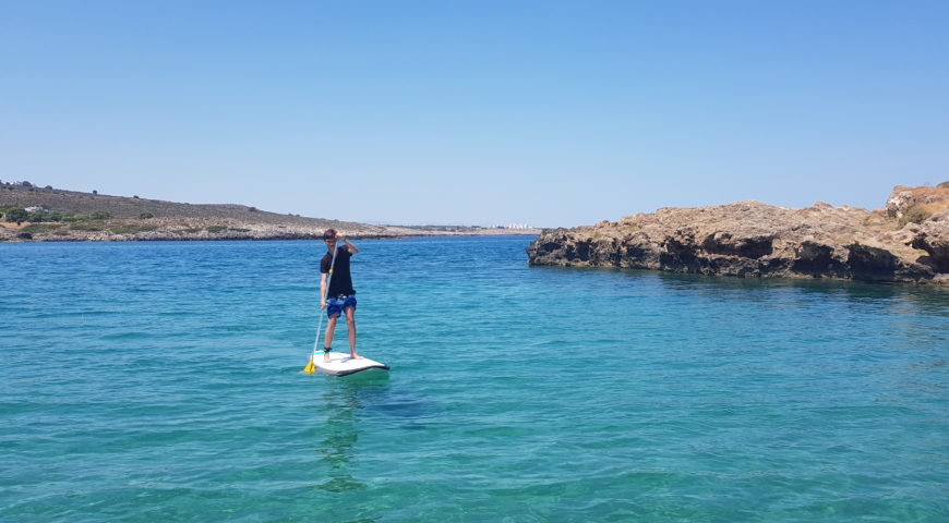 Stand up paddleboard in Chania