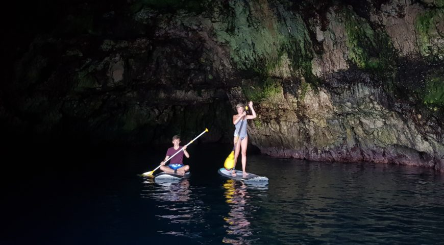 Stand up paddleboarding in Chania